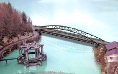 Nuovo ponte a Barcis