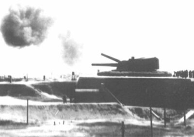Veduta della Batteria Amalfi nel maggio 1917