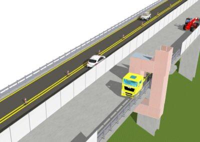Viadotto La Gulfa A11 Ripristini travi e intradosso solette