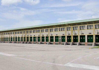 Mercato ortofrutticolo di Verona, simulazione 3d delle teste di carico