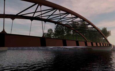 Nuovo ponte di Barcis