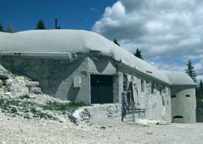 Restauro conservativo del Forte Verena