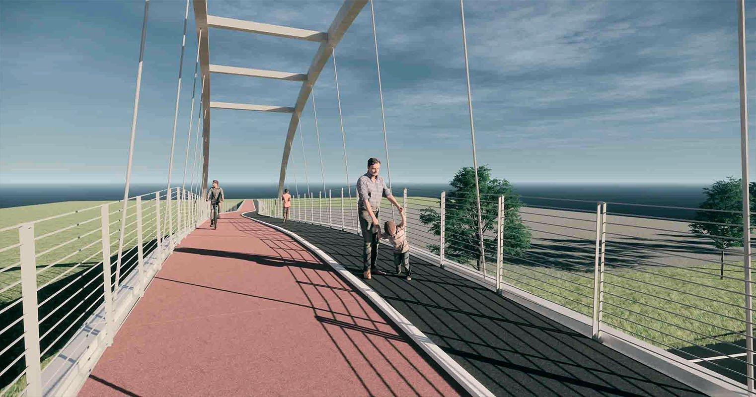 nuova passerella ciclopedonale Passerella di Pordenone