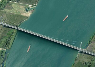 Ponte sul Danubio a Braila