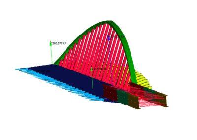 Progettazione BIM del ponte sull'Adige di Trento