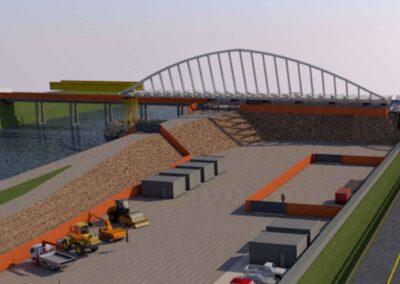 Modellazione 3D del ponte sull'Adige di Trento