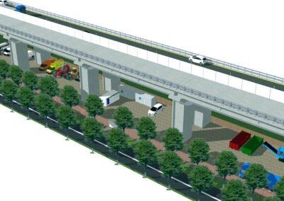 """Riqualificazione viadotto """"La Gulfa"""" lungo l'Autostrada A11"""