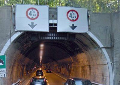 Adeguamento di n. 10 gallerie sull'Autostrada A7 Milano-Genova