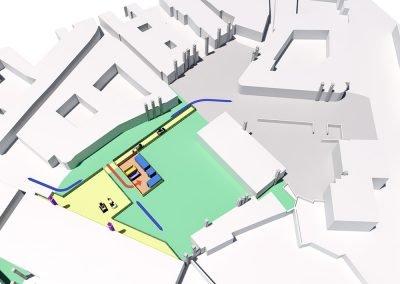 riqualificazione urbana di piazza della motta percorsi di cantiere