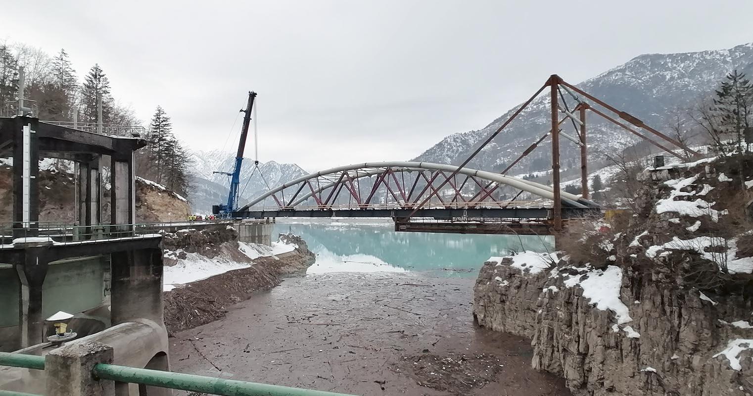 meg studio nuovo ponte di barcis 3 febbraio varo del ponte di barcis finale