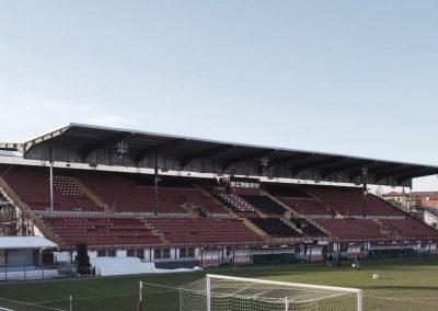 Riqualificazione della tribuna dello stadio Romeo Menti